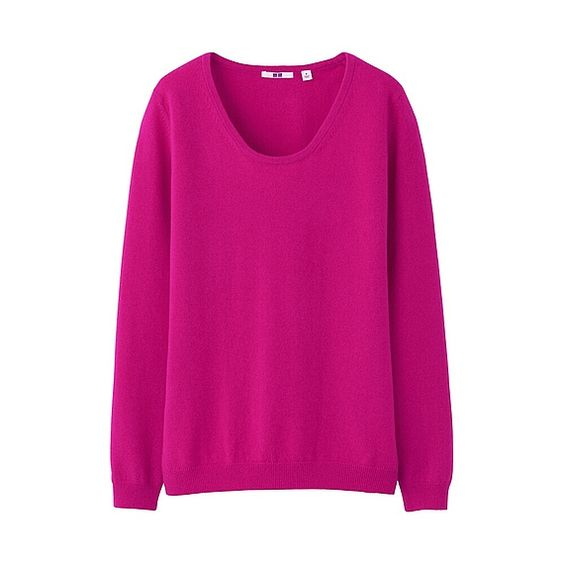 WOMEN Cashmere Round Neck Sweater