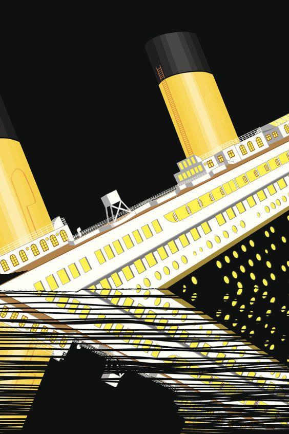 """Der dramatische Untergang der """"Titanic"""" in Echtzeit"""