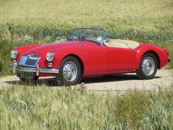 1960 MGA 1600 Mk1 Roadster red