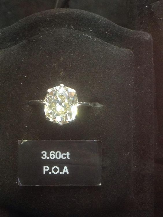 I found this is Hatton Garden, it was the most beautiful ring, it had tube down the size and was a champaign diamond. ugghhhhh