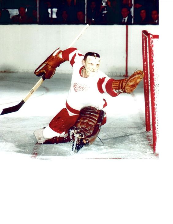 TERRY SAWCHUCK DETROIT RED WINGS 8X10 TEAM PHOTO HOCKEY NHL MICHIGAN HOF