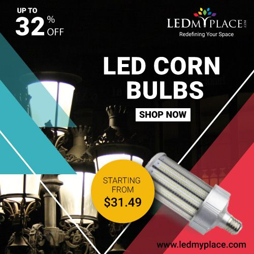 Get 5x Times More Focused Light With Led Corn Bulbs Buy Now Bulb Led Save Energy