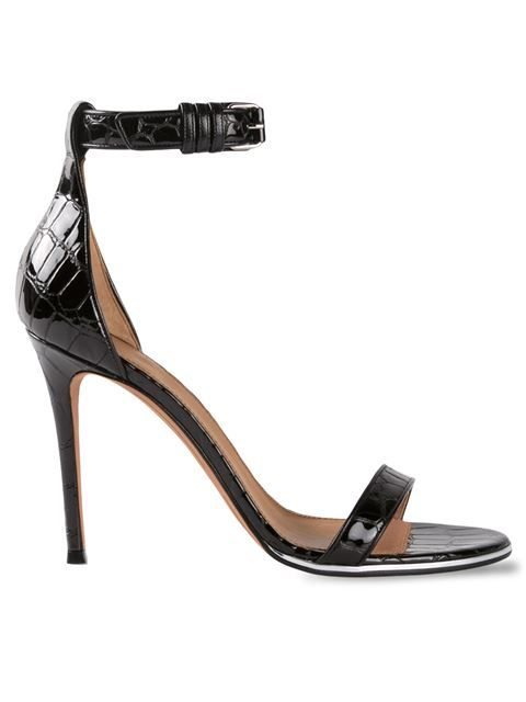 Shop Givenchy 'Nadia' embossed crocodile sandals in Forty Five Ten from the world's best independent boutiques at farfetch.com. Over 1000 designers from 60 boutiques in one website.