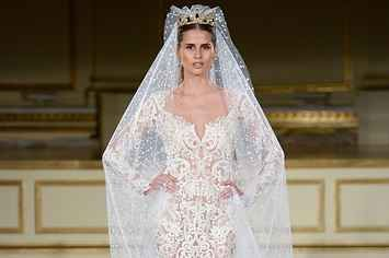17 Ridiculously Cool Sheer Wedding Dresses