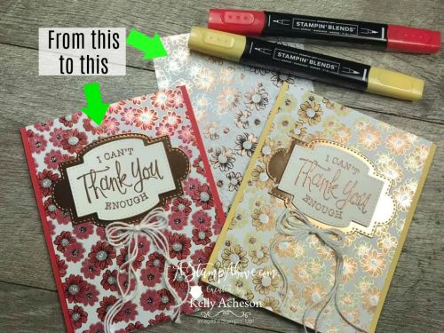 NEW & FREE - FLOWERING FOILS SPECIALTY Designer Series Paper with So Sentimental from Stampin' Up! - VIDEO TUTORIAL - Click for details - ️SHOP ️ - ORDER STAMPIN' UP! PRODUCTS ON-LINE. Purchase the $99 Starter Kit & enjoy a 20% discount! Tons of paper crafting ideas & FREE Online Classes. www.AStampAbove.com