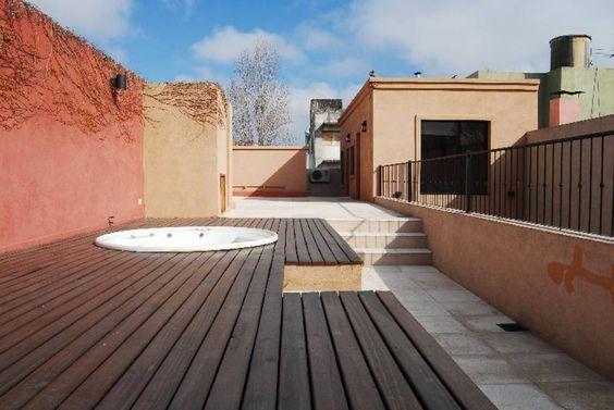 terraza Spa, después : Terrazas de estilo translation missing: ar.style.terrazas.ecléctico por Parrado Arquitectura