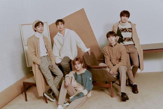 NUEST IS NOW 5 2019 ( 6 INCLUDING LOVES) NUEST PHOTOSHOOT