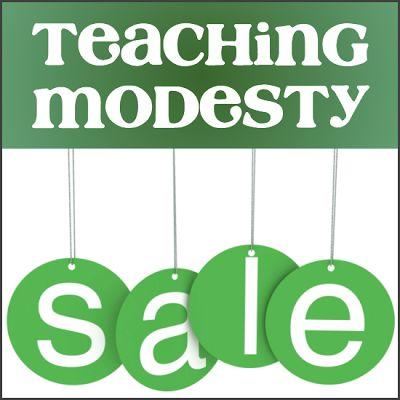 Teaching Modesty