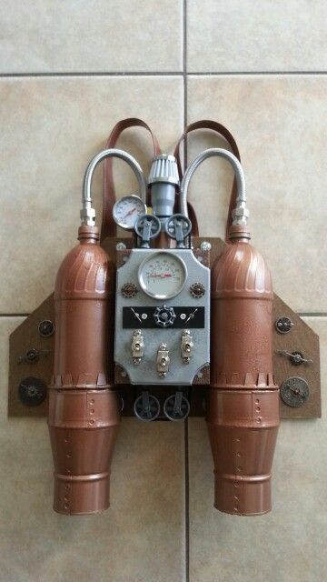 My steampunk jetpack for Megacon 2014