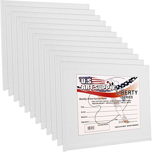 US Art Supply 5 X 5 inch Professional Artist Quality Acid...: