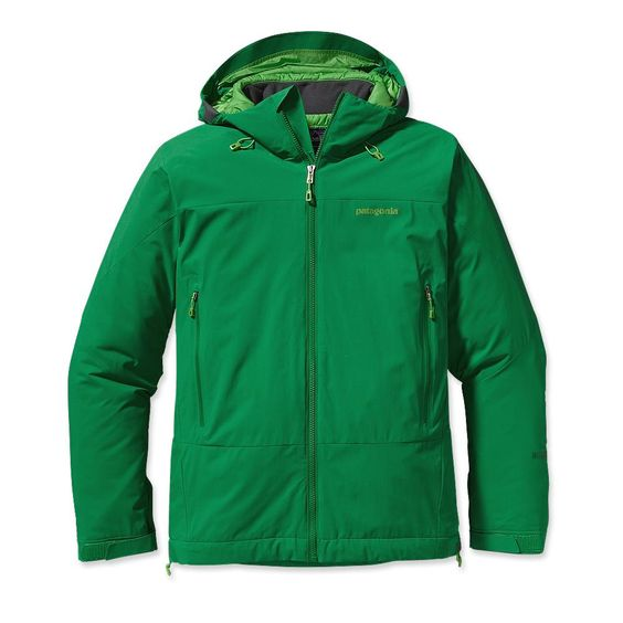 Patagonia Men's Winter Sun Hoody  24oz, so not the lightest thing ever, but for an outer layer I think that's decent, right?  $299