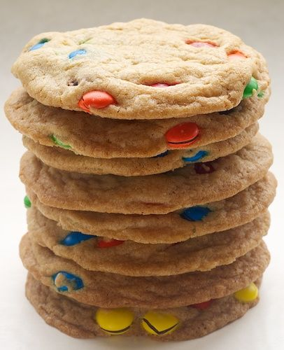Big Chewy M & M Cookies | Bake or Break