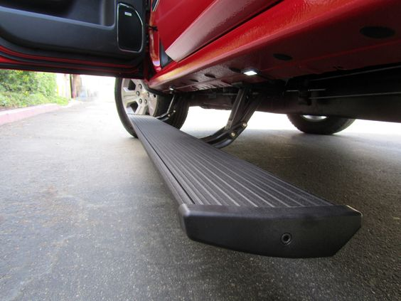 I've always been a big fan of tailgate steps for big trucks. I don't have a truck at the moment, but I definitely plan on having one in the future. When I do, I think it would be really nice to have a step to make it easier to load things in the bed of the truck. http://www.amp-research.com/products/truckaccessories/bedstep/