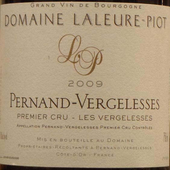 2009 Domaine Laleure-Piot Pernand-Vergelesses 1er Cru Les Vergelesses