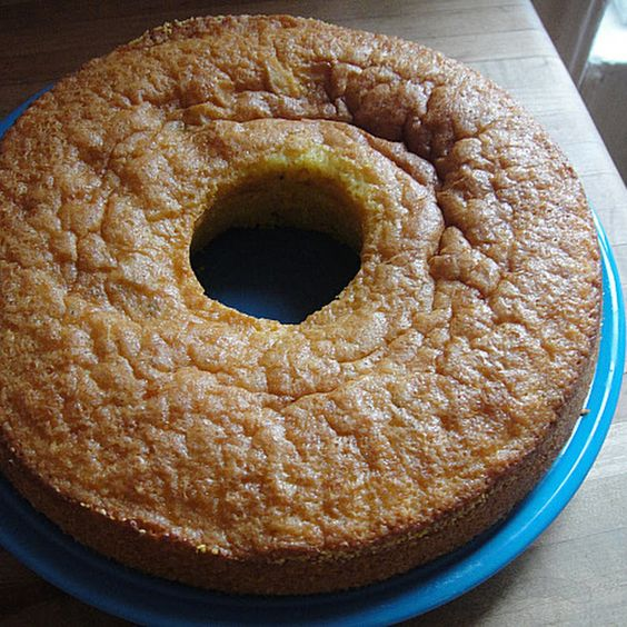 David Lebovitz's Polenta Cake with Olive Oil and Rosemary