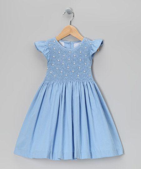 Designer Kids dresses light blue