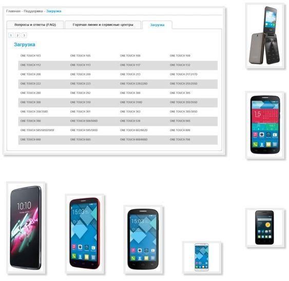 Скачать инструкции к мобильным телефонам