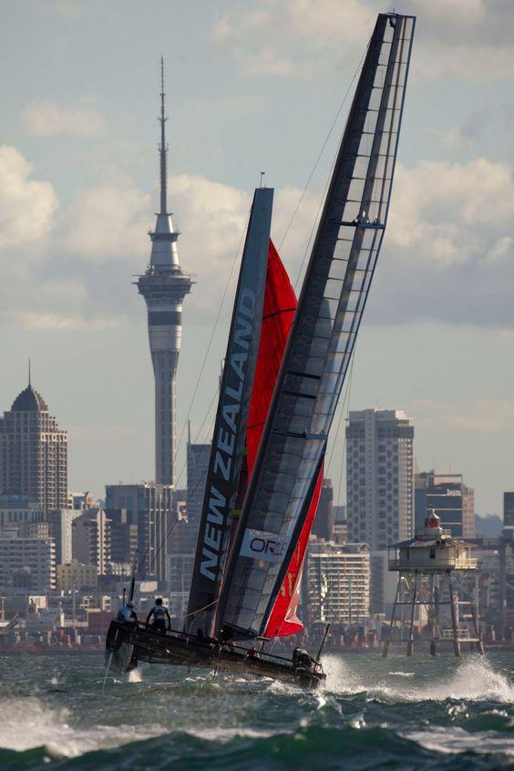 Auckland Harbour, Auckland, New Zealand