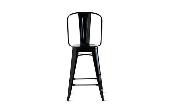 Tolix marais counter stool with high back products counter stools and stools - Tolix marais counter stool ...