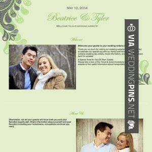 Wedding Websites With Music Check Out More Great Website Pics