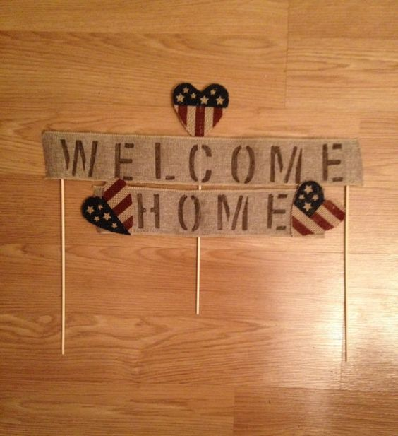 Pinterest the world s catalog of ideas for Welcome home soldier decorations
