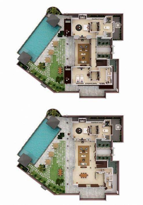 Decorate Home Decoratehome101 Resort Plan Bungalow House Design Resort Design