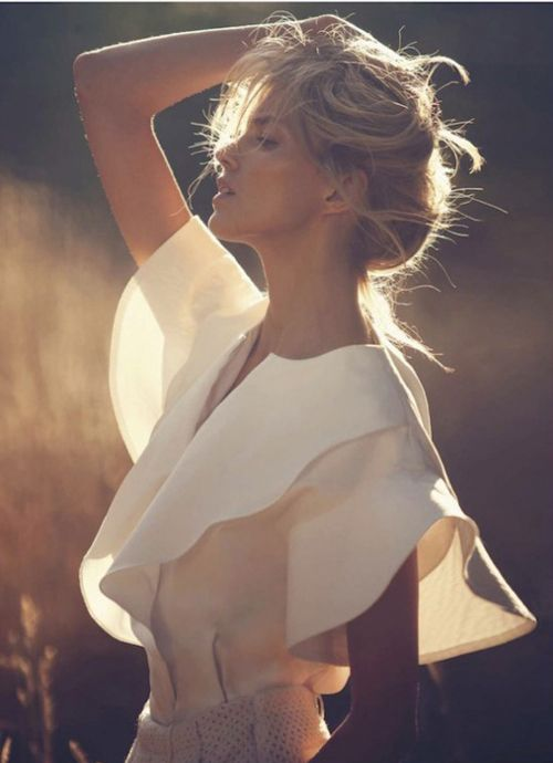 Anja Rubik | David Bellemere | Vogue Paris November 2012.