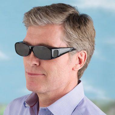 The Eye Fatigue Preventing Over Sunglasses - Hammacher Schlemmer