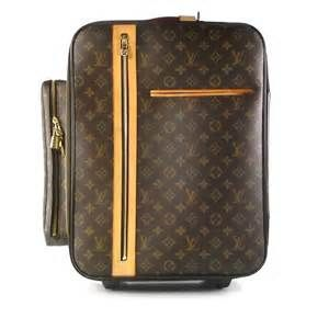 LOUIS VUITTON Bosphore Trolley 50 Rolling Luggage - my favorite carry-on!