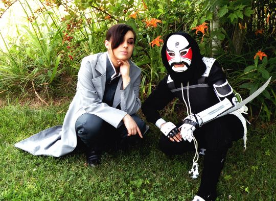 Greedling and Lan Fan Cosplay by greeneyed-monster