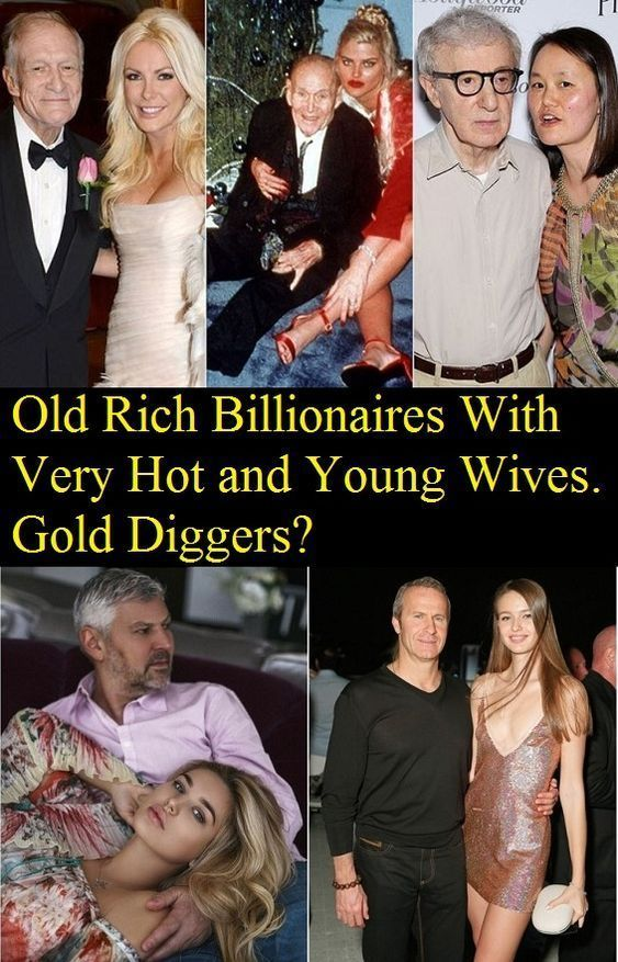 Rich men with young wives