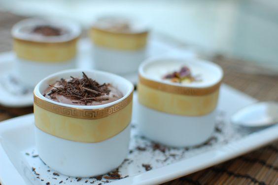 ... creme fraiche chocolate hazelnut mousse blossoms orange chocolate