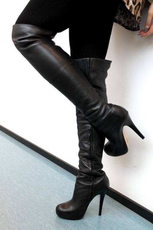 40 Gorgeous High Heels Shoes To Die For | High boots, Sexy and ...