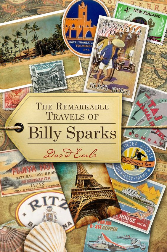 """Introducing a new novelette by """"Life Is But A Dream"""" author, David Earle.  Dedicated to everyone who has a dream, """"The Remarkable Travels of Billy Sparks"""" is a motivational journey now available on Amazon Kindle."""