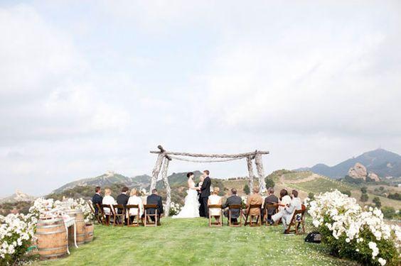Saddlerock Ranch Real Wedding