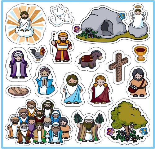 Magnet Set (Easter Story):