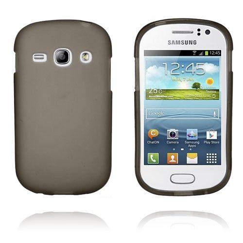 GelCase (Grå) Samsung Galaxy Fame-Skal