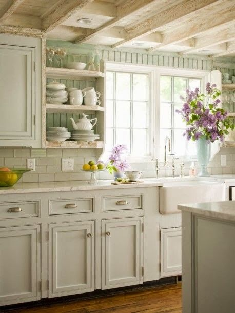 FRENCH COUNTRY COTTAGE: French Cottage Kitchen Inspiration: