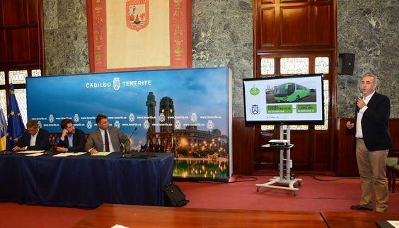 El gerente de la Compañía, Jacobo Kalítovicks, ofrece las explicaciones sobre el modelo de renting, pionero entre las empresas públicas de transporte colectivo y regular de viajeros. #nuevasguaguas