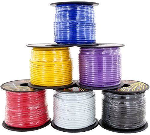 16 Ga Primary Wire 10 Roll Color Combo 100 Ft Per Color 1000 Total Cca Cable For Automotive Trailer Harness Car Speaker Amplifier Wiring Others In Product Car Speakers Speaker Amplifier Amplifier