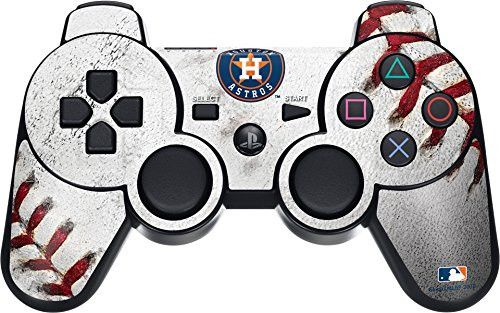 MLB Houston Astros PS3 Dual Shock wireless controller Skin - Houston Astros Game Ball Vinyl Decal Skin For Your PS3 Dual Shock wireless controller