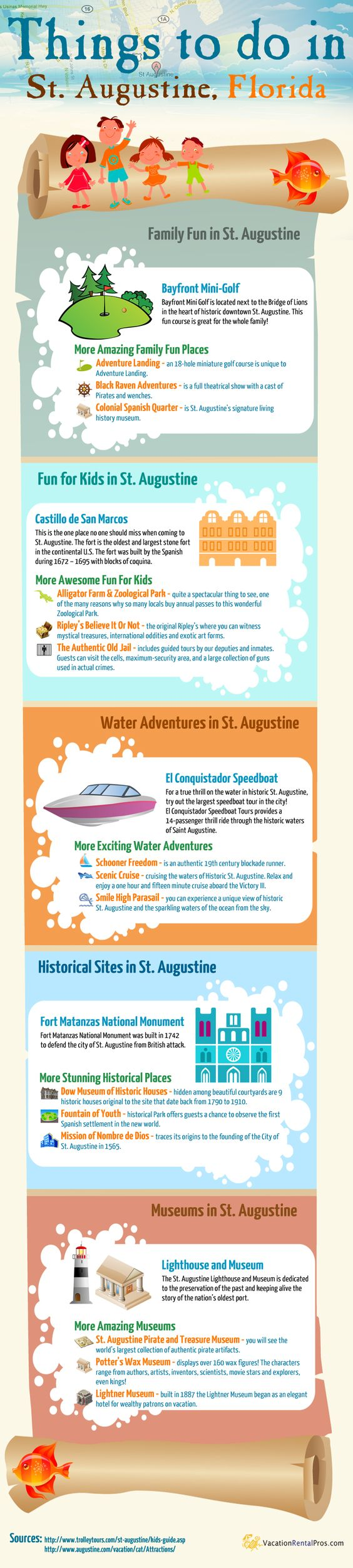 Come Discover The City Of St Augustine Florida Diverse Adventures Await The Whole Family