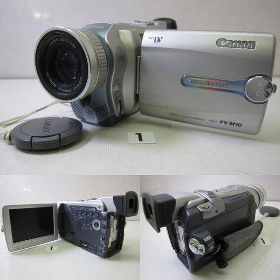 CANON  DM-FV M10 ※正常に電源が入りません。 CANON  DM-FV10 HITACHI  DZ-MV350 ※LCD不良。