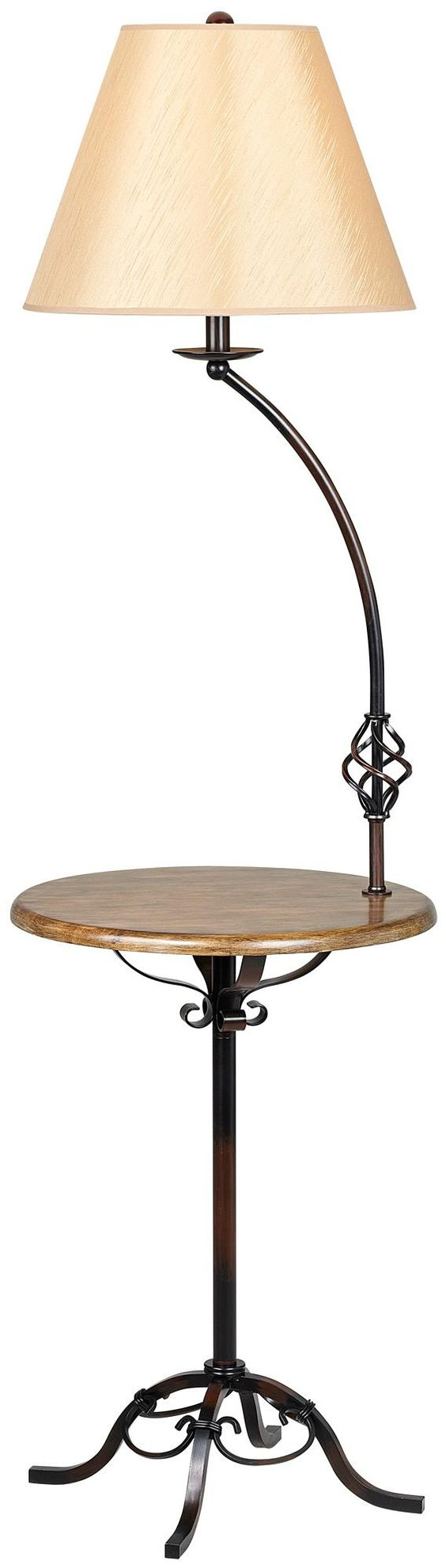 wrought iron wood tray table floor lamp wood tray tray tables and wrought. Black Bedroom Furniture Sets. Home Design Ideas