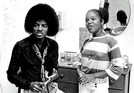 c.1969-1979: Michael and Janet Jackson as children