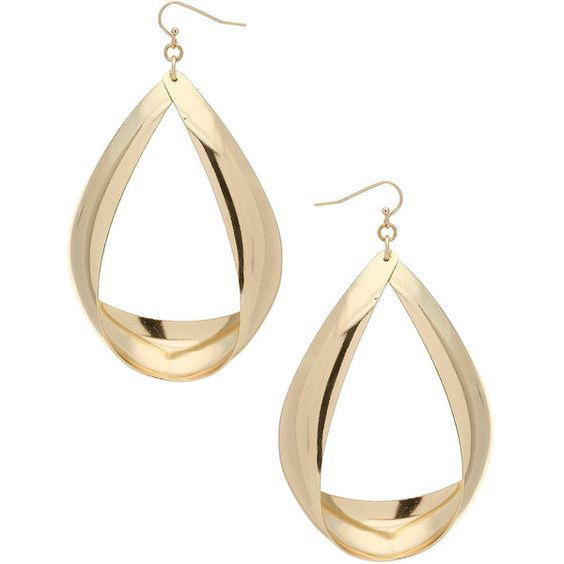 Large Oval Drop Earrings (410 HNL) ❤ liked on Polyvore featuring jewelry, earrings, aros, joias, women, oval earrings, earrings jewelry and drop earrings