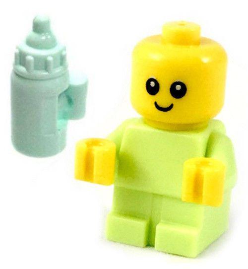 Lego NEW Green Minifigure Bottle