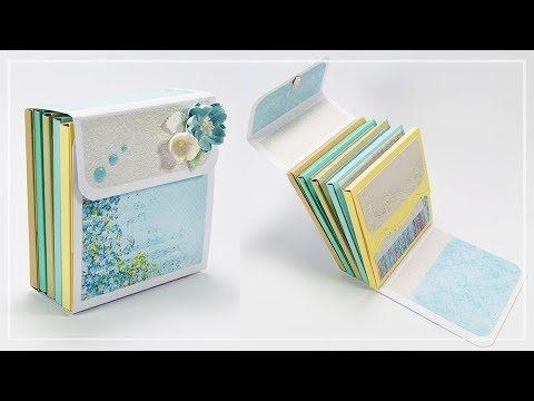 Mini Album Con Cartelle Fai Da Te Diy Mini Album With