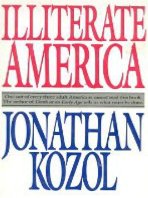 read savage inequalities by jonathan kozol Savage inequalities: children in america's schools by jonathan kozol - chapter 1, life on the mississippi: east st louis, illinois, summary and analysis.