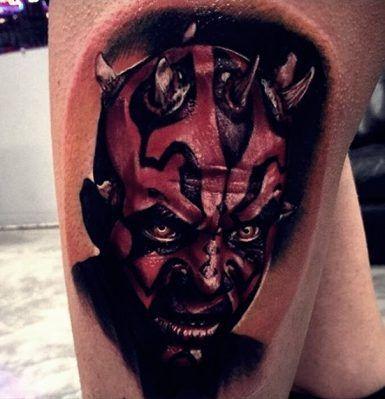star wars darth maul tattoo-3